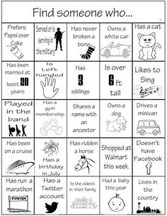Family reunion bingo is a great ice breaker activity for family reunions or parties of any kind. I created a family reunion bingo card several years ago that we have used over and over again. Family Reunion Activities, Icebreaker Activities, Family Games, Family Reunions, Group Games, Group Activities, Icebreaker Games For Work, Team Building Activities For Adults, Family Reunion Favors