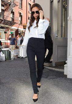 Victoria Beckham has some amazing mum street style