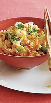 Fried Brown Rice with Edamame  - Short on time but want to make tasty food that slims you? Lucky for you, these dishes come together in five minutes or less. Mix and match these meals, and shed up to 11 pounds in 30 days!