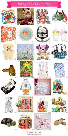 Project Nursery 2012 Holiday Gift Guide for Babies