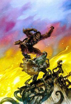 'Dark Empire II #2' alternative cover art, not used