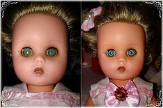Dolls eyes cleaned with WD-40.