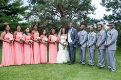Elegant Wedding with Touches of Pink in Wisconsin