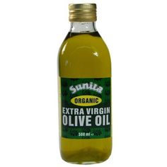 Sunita Greek Organic Extra Virgin Olive Oil 500ml