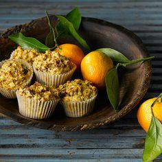 Orange Bran Muffins - All-Bran cereal No Calorie Foods, I Foods, Orange Pulp Recipes, All Bran Muffins, Yummy Treats, Yummy Food, Bran Cereal, Cooking Recipes, Healthy Recipes