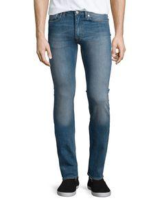 Acne Studios Ace Carter Skinny Denim Jeans, Light Blue. Acne StudiosBleu  ClairMode HommePantalonsVêtementsBergdorf Goodman 1da02d486e3