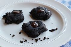 Chocolate Brownie Cookies Made With Black Beans