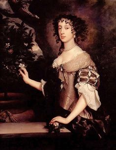MARY OF MODENA (b.1658-d.1718). QUEEN CONSORT OF JAMES II from her husband's accession on the 6th of February, 1685 until her husband's deposition on the 11th of December, 1688.
