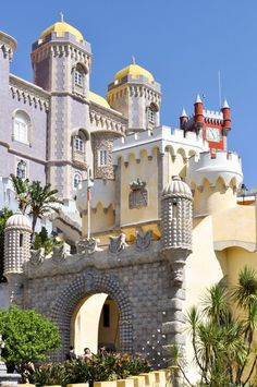 Pena Palace in Sintra, Portugal | The best day trip from Lisbon | How to spend one day in Sintra, Portugal
