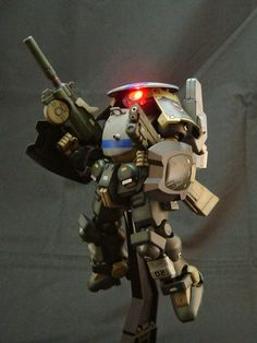 "Custom Build: HG 1/144 Grimoire ""Full Armor"" + LED - Gundam Kits Collection News and Reviews"