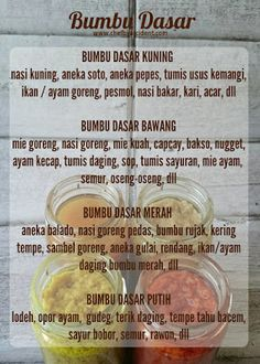 chef by accident: Bumbu Dasar Praktis