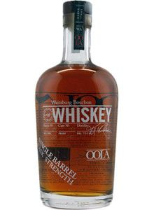 Oola Waitsburg Single Barrel Cask Strength #Bourbon #Whiskey.  This single cask bourbon, which is made from a four-grain mashbill and earned the Gold Medal at the San Francisco World Spirits Competition in 2013, was bottled at a robust 114 proof without the use of chill filtration. | @Caskers