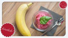 Kirsch-Bananen-Eis aus dem Thermomix – leckeres Fruchteis