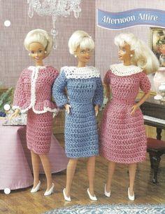 Barbie Fashion Doll Crochet Patterns - Bing images
