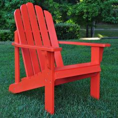 I pinned this Marina Adirondack Chair in Tomato from the Shine Company event at Joss & Main!