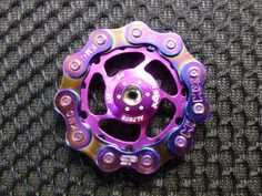 Hand Spinner Fidget Toy - The Spini - Model: Purple Haze by Spinful