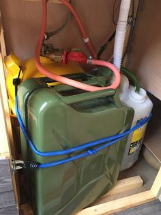 My kitchen unit     The kitchen unit has to contain a lot in my van conversion. It contains the water and gas system all in one!       The ...