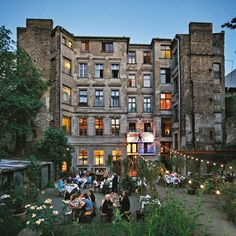 Berlin's hipster neighbourhood | Linienstrasse, Berlin (Condé Nast Traveller) CLARCHENS BALLHAUS