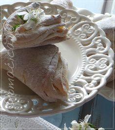 Lisnate kiflice s džemom Kiflice Recipe, Cooking, Cake, Recipes, Books, Kitchen, Libros, Kuchen