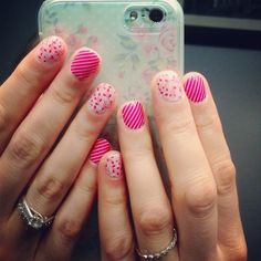 Pink Skinny and Budding Love. Jamberry Nail Wraps.