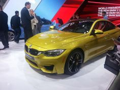 M4 BMW at The 2014 Detroit Auto Show
