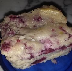 Raspberry Breakfast Cake...because everything is better with raspberries!