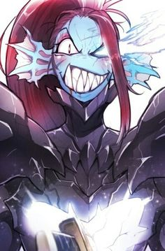 Undertale || Undyne the undying