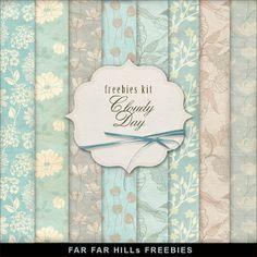 GRANNY ENCHANTED'S FREE DIGITAL SCRAPBOOK KITS: Wednesday's Guest Freebies- Far Far Hill