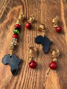 Loc Jewelry, Punk Jewelry, Jewellery, Dreadlock Accessories, Dreadlock Beads, Afro Textured Hair, Crochet Needles, Hair Beads, Star Designs