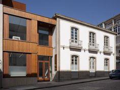 Sede de la Concejalia de Urbanismo de Orense. Pablo Falcón Nóvoa|Espacios en madera