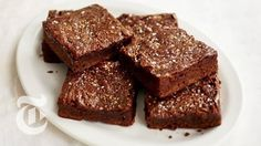 Salted Caramel Brownies   The New York Times