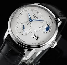 Glashütte Original Panomaticlunar  90-02-42-32-05 with automatic mechanical GO manufacture Caliber 90-02.
