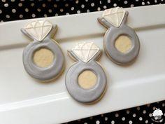 Engagement Ring Cookies - 1 DOZEN