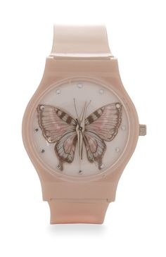 Primark - Print Butterfly Face Watch