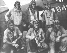 Pilots of the Black Sheep Squadron. F4u Corsair, Ww2 Aircraft, Military Aircraft, Fighter Pilot, Fighter Jets, Black Sheep Squadron, Photo Avion, Man Of War, Ww2 Planes