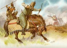 Reconstruction of Wallachian skirmish cavalry, late 15th century