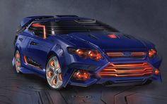 1. Ford Falcon Transformer...