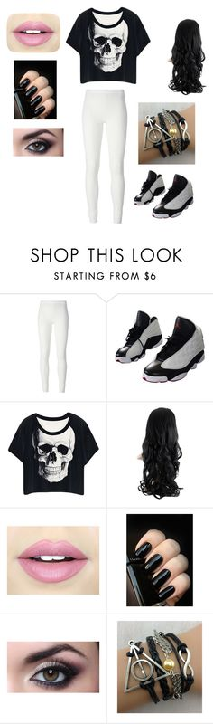 """Untitled #9"" by gisellecisneros-1 ❤ liked on Polyvore featuring Rick Owens Lilies, NIKE and Fiebiger"