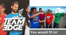 Find out if you would be able to keep up with the crazy challenges that Team Edge does! (Just for fun and not to be taken seriously. I saw that there wasn't any team edge quizzes and decided to make one! No Equipment Workout, Workout Gear, Fun Workouts, Fitness Goals, Fitness Tips, Team Edge, Dance Program, Fitness Brand, Tan Guys