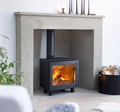 Stunning - New #Contura panorama stove