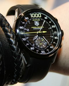 Tag Heuer MikroTimer 1000 1/1000th Of A Second Chronograph Watch