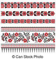 シリーズ46263 - Ukrainian embroidery | Can Stock Photo