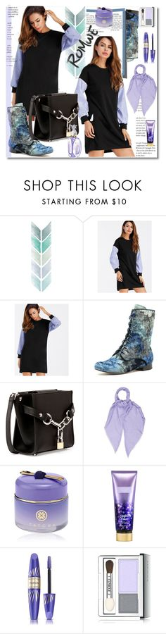 """""""romwe"""" by ilona-828 ❤ liked on Polyvore featuring Alexander Wang, Gucci, Tatcha, Victoria's Secret, Max Factor, Clinique, Anna Sui, romwe and polyvoreeditorial"""