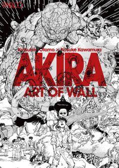 "A giant mural featuring characters from the cyberpunk manga ""Akira"" that adorned the walls of a cons Manga Art, Manga Anime, Anime Art, Akira Anime, Katsuhiro Otomo, Arte Cyberpunk, Genesis Evangelion, Akira Kurusu, Traditional Japanese Tattoos"