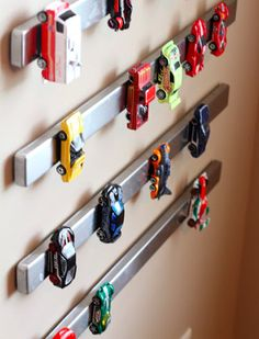 Creative Storage Solutions For Messy Kids' Toys via @PureWow