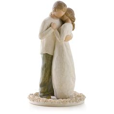 Willow Tree Figurines Bride And Groom - Willow Tree Promise Wedding Enement Wedding Cake Fresh Flowers, Pretty Wedding Cakes, Elegant Wedding Cakes, Wedding Cake Designs, Wedding Ideas, Wedding Planning, Creative Wedding Cakes, Table Wedding, Willow Tree Promise