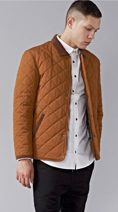 Canadian Maple Quilted Jacket