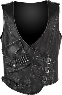 Best men's jackets certainly are a crucial part of each and every man's wardrobe. Men will need outdoor jackets for assorted circumstances as well as some varying weather conditions. Great Stylish Men's Jacket. Punk Fashion, Gothic Fashion, New Fashion, Trendy Fashion, Moda Steampunk, Style Steampunk, Dr Martens Outfit, Leather Vest, Black Leather