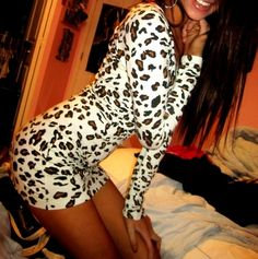 Cheetah print dress. Yes, please!! :)