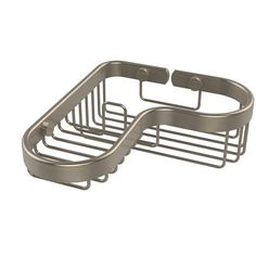 Corner Combination Shower Basket, Antique Pewter - (In No Image Available)